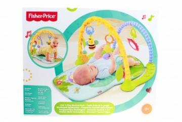 BJL04 Fisher Price muzikinis kilimėlis MATTEL Saugiai kūdikystei