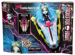 BJR46 lėlė Monster High Freaky Fusion Frankie Recharge Chamber MATTEL NEW