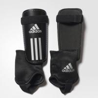 Blauzdų apsaugos adidas FIELD CLUB AO1182 juodos, su čiurnų apsauga, Dydis XS Football protection