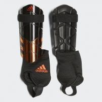 Blauzdų apsaugos adidas Ghost Reflex Black su kulkšnies apsauga, Dydis L