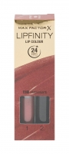 Lūpų dažai Max Factor Lipfinity Lip Colour Cosmetic 4,2g Nr.110, Passionate Lūpų dažai
