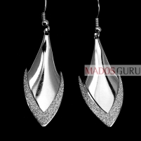 Glossy earrings A259