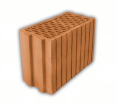Ceramic block Keraporas KS17,5+D2 387x175x238 Ceramic blocks