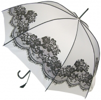 Blooming Brollies Skėtis White Vintage BCSVWH Umbrellas
