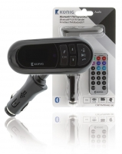 """Bluetooth"" 12 V FM bangų siųstuvas su mikrofonu Automagnetolos, FM moduliatoriai"