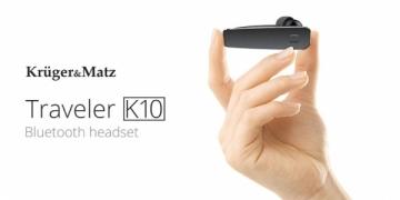 Bluetooth laisvų rankų įranga Kruger&Matz Traveler K10 Laisvų rankų įranga