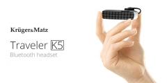 Bluetooth laisvų rankų įranga Kruger&Matz Traveler K5 Laisvų rankų įranga