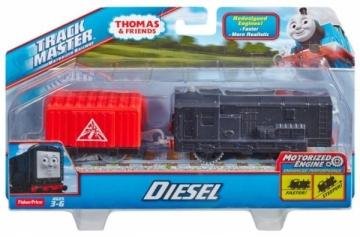 Traukinukas BMK91 / BMK88 TrackMaster / Diesel Geležinkelis vaikams