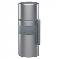Boddels HEET Vacuum flask with cup Light grey, Capacity 0.35 L, Diameter 7.2 cm, Bisphenol A (BPA) free