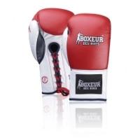 Bokso pirštinės BOXEUR BXT-5204, raudonos Bokso pirštinės