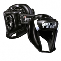 Bokso šalmas BOXEUR BXT-HG05, juodas Bokso priedai