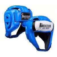 Bokso šalmas BOXEUR BXT-HG05, mėlynas Bokso priedai