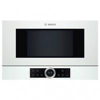 Bosch BFL634GW1 Built-In Microwave Oven, White Įmontuojamos mikrobangų krosnelės