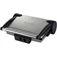 Bosch TFB4431V Contact Grill, Large grilling surface, Power 2000 W, Silver Grili