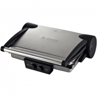 Bosch TFB4431V Contact Grill, Large grilling surface, Power 2000 W, Silver Grills