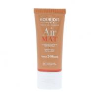 BOURJOIS Paris Air Mat Foundation SPF10 Cosmetic 30ml Shade 06 Golden Sun Makiažo pagrindas veidui