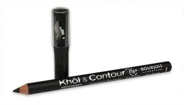 BOURJOIS Paris Eye Pencil Khol Contour Black Cosmetic 1,4g Akių pieštukai ir kontūrai