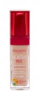 BOURJOIS Paris Healthy Mix 51,5 Rose Vanilla Anti-Fatigue Foundation Makeup 30ml Makiažo pagrindas veidui