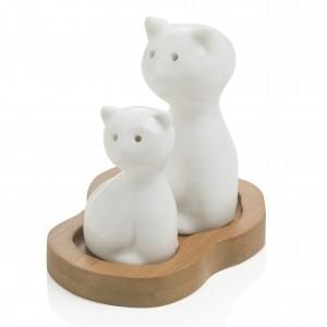 Brandani prieskoninės iš porceliano (katės formos) The spices
