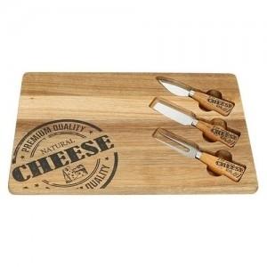 Brandani sūrio lentelė+3įrankiai (7764) Virtuvės įrankiai