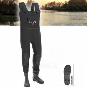 Bridkelnės DAM H2O 4mm Žvejybinės kelnės, bridkelnės