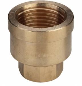 Bronzine pereinama mova VIEGA, d 1''-3/4'', vidus-vidus Nav pārklāti ar bronzas uzmavas