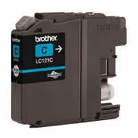 Brother LC121C, Cyan Ink Cartridge 300 pages