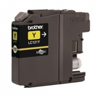 Brother LC121Y, Yellow Ink Cartridge 300 pages