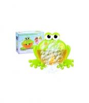 Bubble frog muilo burbulų žaislas Musical toys
