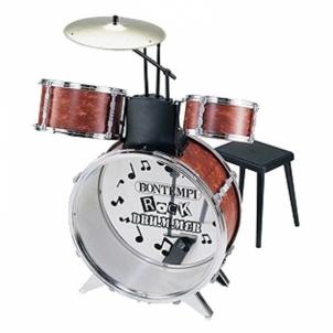 Būgnai JD4530 DRUM_Metal Silver Drum Set 4