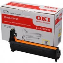 Būgnas OKI yellow   C5850/5950/MC560