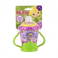 Buteliukas 1 pack twin handle cup Flower 210ml. Of infants
