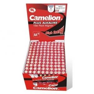 Camelion Plus Alkaline AA (LR06) Display Box (24x10pcs) Shrink Pack, 2800mAh Fotoaparatų krovikliai/ baterijos