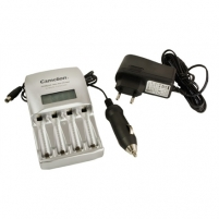Camelion Ultra Fast Charger BC-0907 (without batteries), 60 Minutes Fast Charger + 12V Car Plug Adaptor