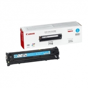 Canon 716C Cyan Toner Cartridge (for LBP5050/MF8050/MF8030), 1500 p. @ A4 5%
