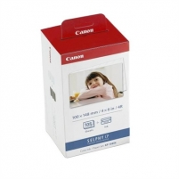 Canon KP-108IN Colour Ink Cartridge with 108 Sheets postcard size (100 x 148mm) paper (for Selphy CP series) Toneri un kārtridži