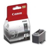 Canon PG-37 FINE Pigment Black Ink Cartridge (for Pixma iP2800/2500/2600, MP140/210/220, MX300/310), 220 p
