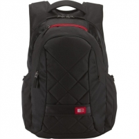 Case Logic DLBP116K Notebook Sporty Backpack/ For 16''/ Polyester/ Black/ For (29.5 x 4.0 x 39.0cm)