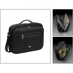 Case Logic PNC216 Laptop Briefcase for 16''/ Nylon/ Black-Green/ For (39.2 x 4.0 x 30.0cm)