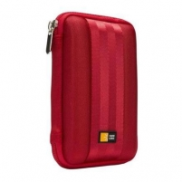 Case Logic QHDC101R EVA External Harddrive Case, small (8.3 x 2.0 x 13.2cm), sangria (red) Bags and holsters