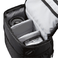 Case Logic TBC409 SLR Camera Holster/ Nylon/ Black/ Fits DSLR, 1-2 extra lenses and other small accessories
