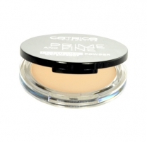 Catrice Prime And Fine Mattifying Powder Waterproof Cosmetic 9g 010 Translucent Pudra veidui