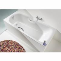 Cayono vonia 160X70X41cm su skylėmis rankenėlėms Vonios