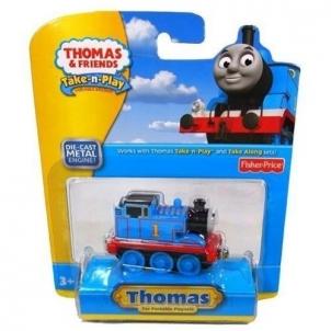 CBL75 / T0929 Fisher Price THOMAS & FRIENDS Take-n-Play Паравозик Thomas Geležinkelis vaikams