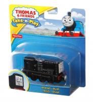 Traukinukas CBL82 / T0929 Fisher Price THOMAS & FRIENDS Take-n-Play Diesel