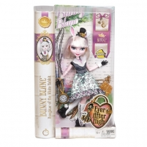 CDH57 / DRM05 lėlė Mattel Monster High Bunny Blank Ever After High Bunny Blanc Doll