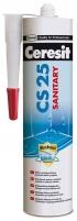 Ceresit CS25-22, 280 ml, smėlio sp. sanitarinis silikonas Tepe