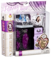 CFB16 / CFB15 kosmetinis staliukas Raven Queen Mattel Ever After High