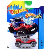 CFM28 / BHR15 Baja Bune Shaker, изменяющая цвет, из серии Color Shifters, Hot Wheels, Mattel