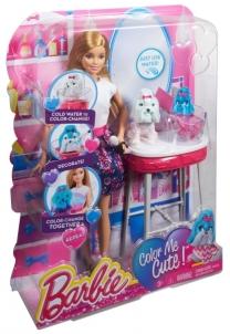 CFN40 Žaidimų rinkinys gyvunų salonas BARBIE MATTEL Žaislai mergaitėms